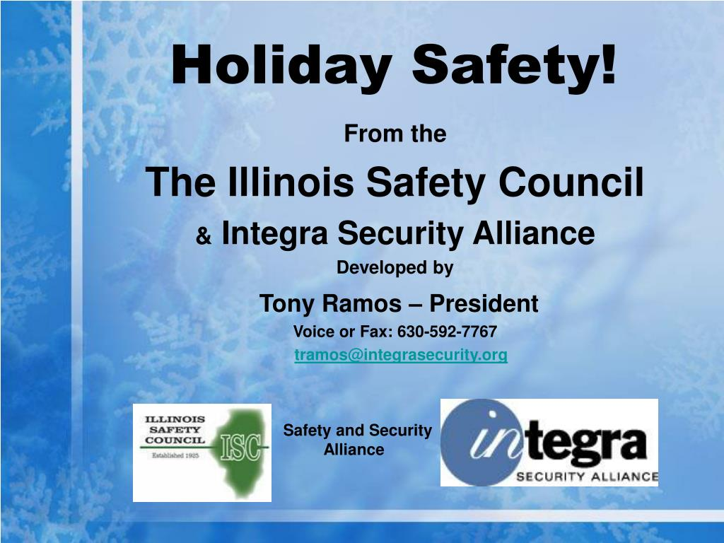 holiday safety l.