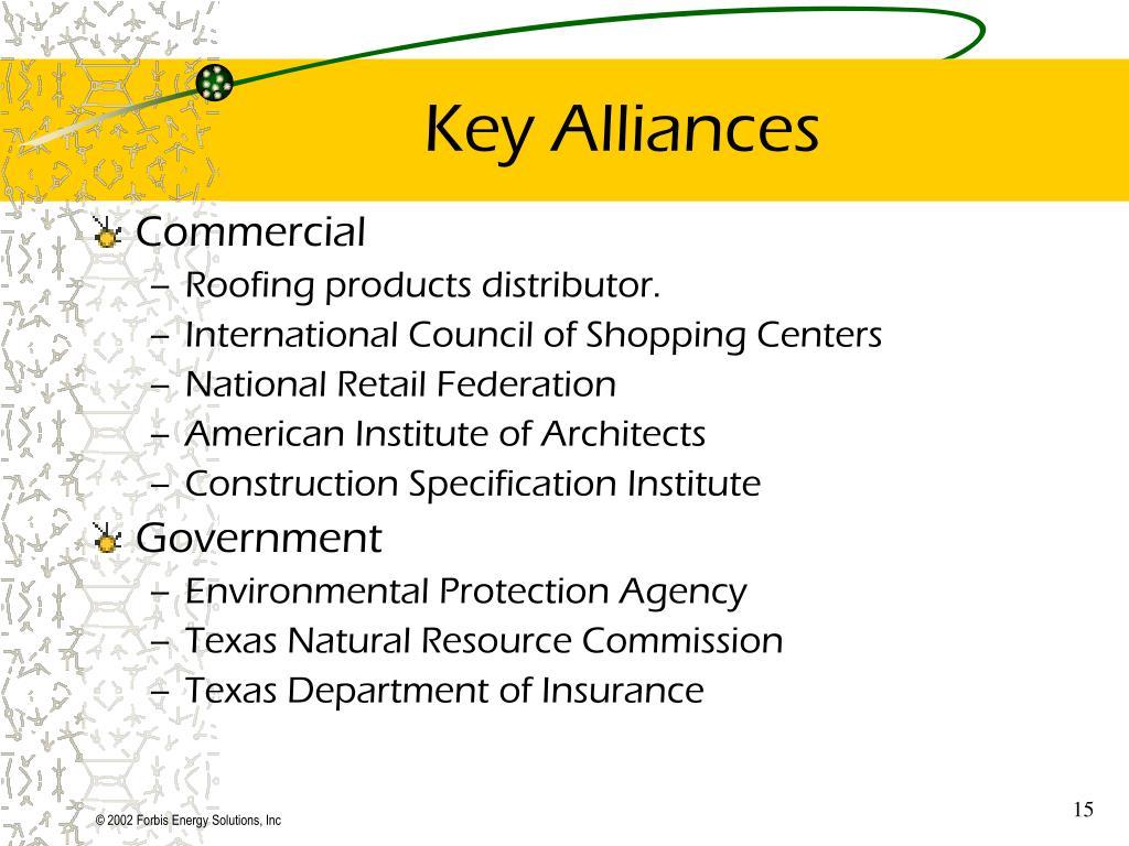 Key Alliances