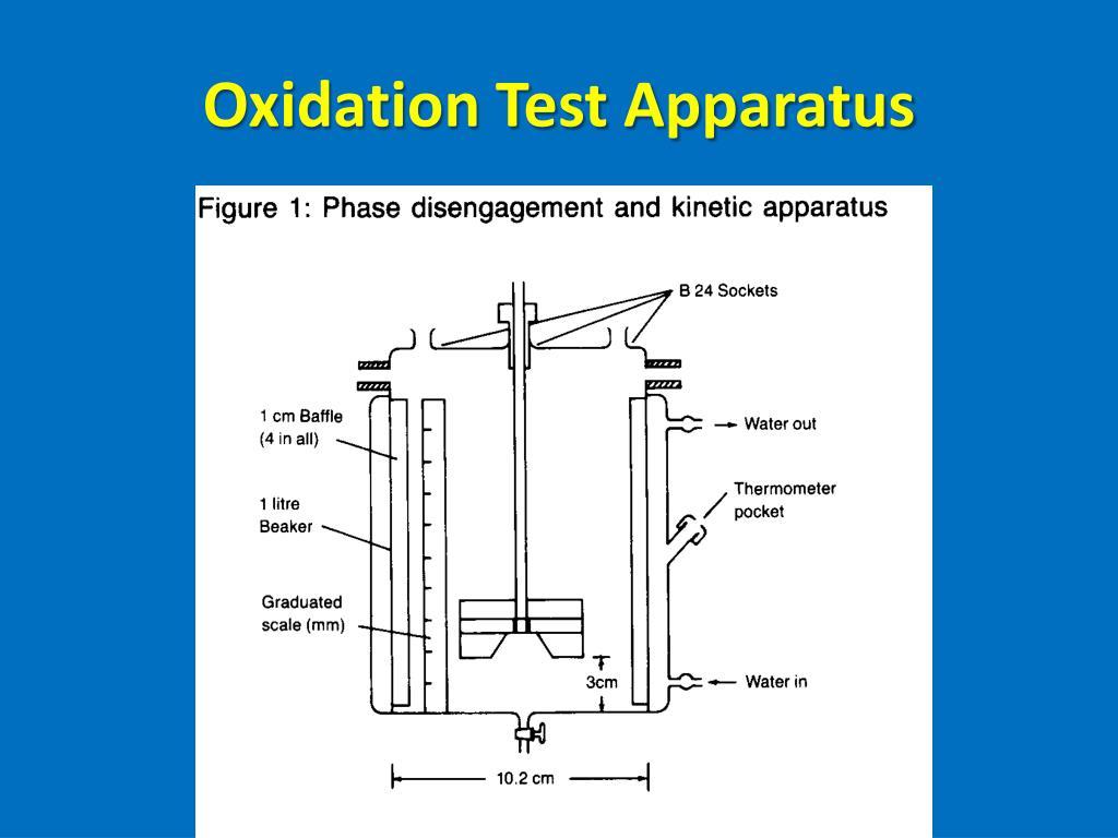 Oxidation Test Apparatus