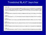 translated blast searches44