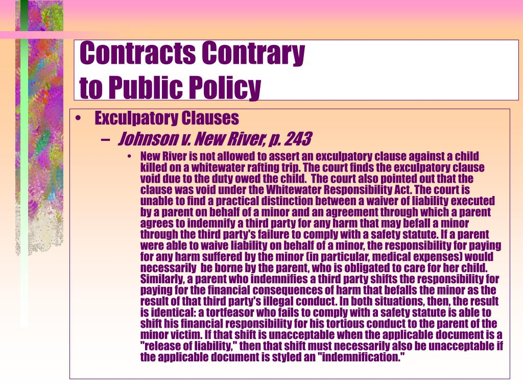 Contracts Contrary