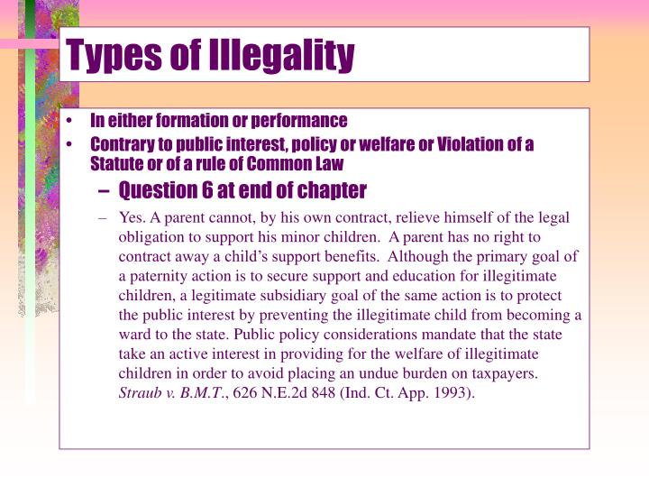 Types of illegality3