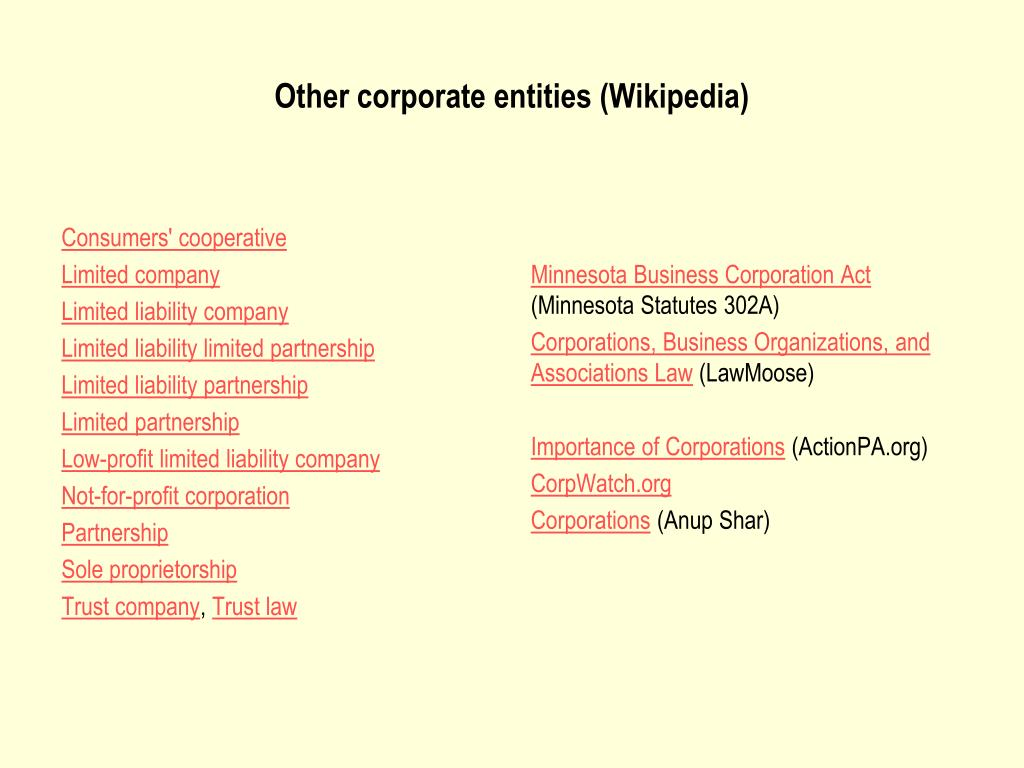 Consumers' cooperative