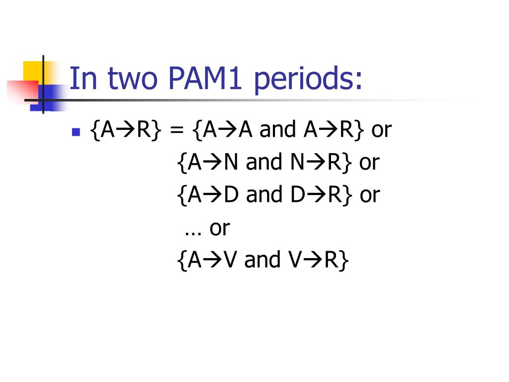 In two PAM1 periods: