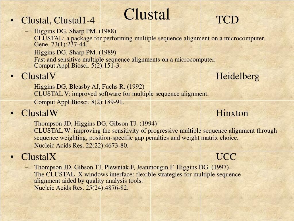 Clustal