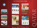 our preferred hotels in qatar