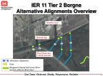 ier 11 tier 2 borgne alternative alignments overview