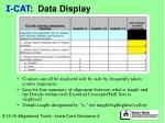 i cat data display29