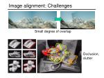 image alignment challenges