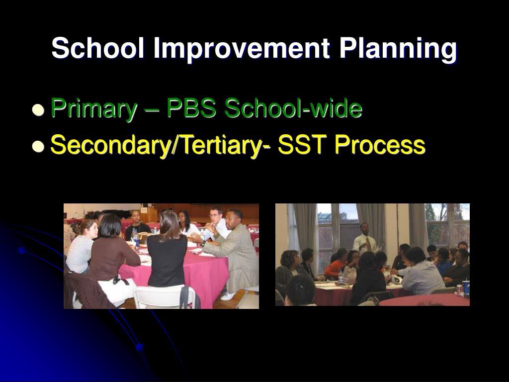 School Improvement Planning