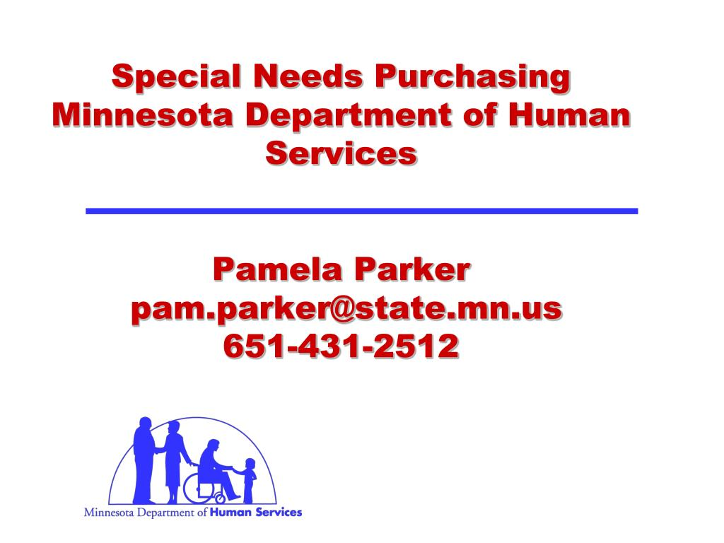 Special Needs Purchasing