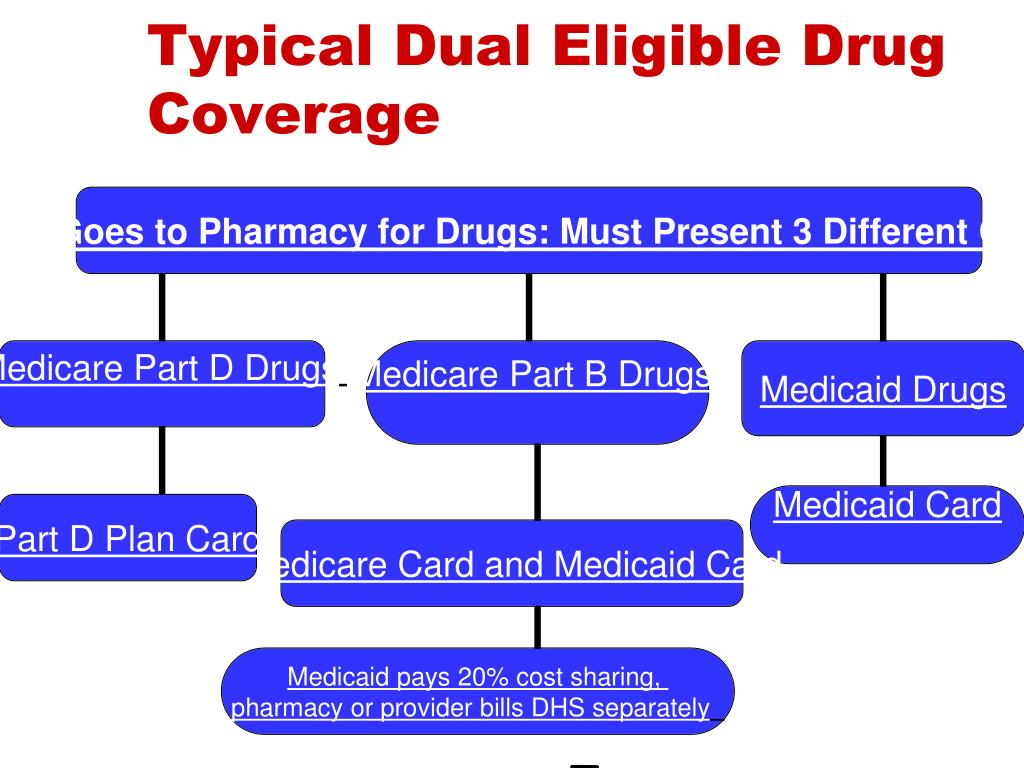 Typical Dual Eligible Drug Coverage