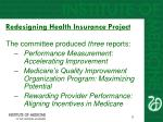 redesigning health insurance project8