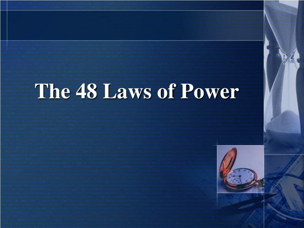 the 48 laws of power l.