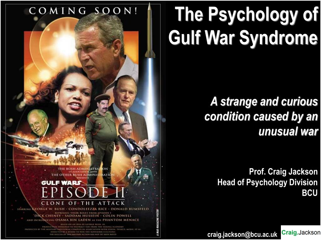The Psychology of Gulf War Syndrome