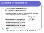 dynamic programming43