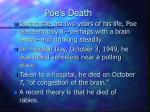 poe s death