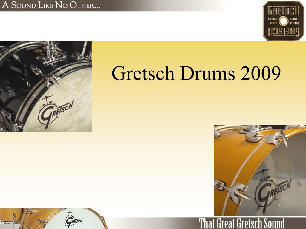 gretsch drums 2009 l.