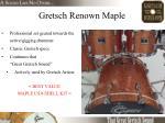 gretsch renown maple