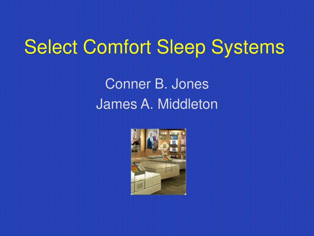 select comfort sleep systems l.