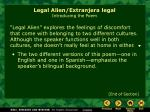 legal alien extranjera legal introducing the poem4