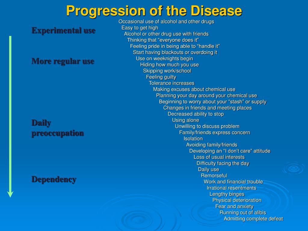 Progression of the Disease