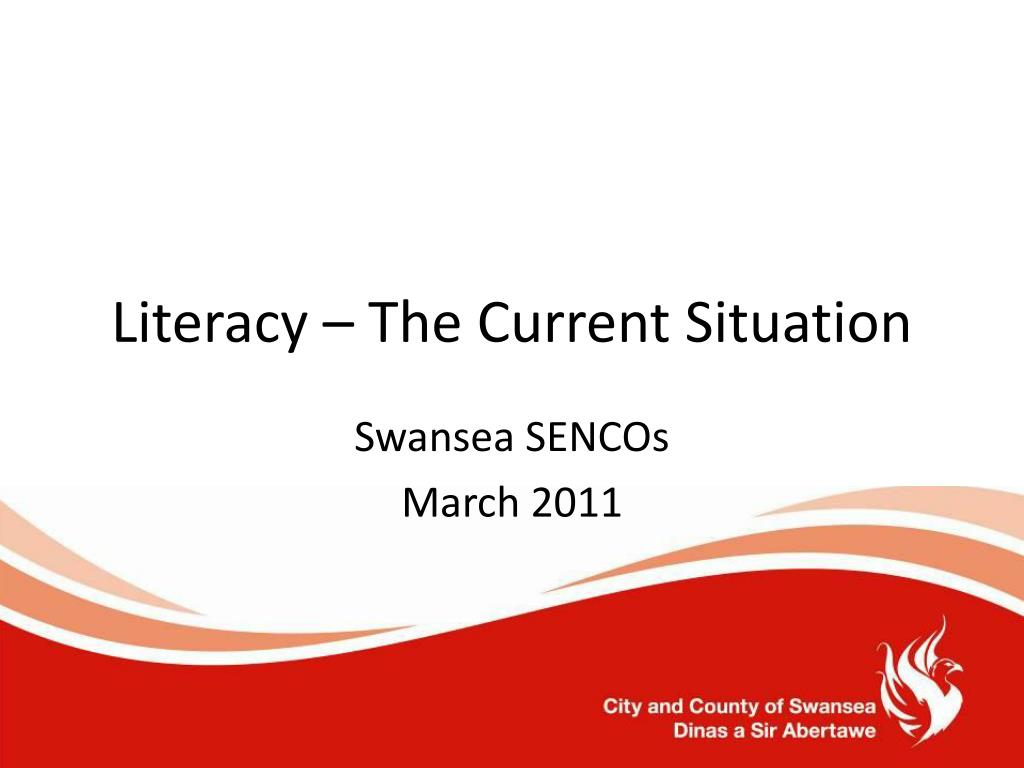 Literacy – The Current Situation