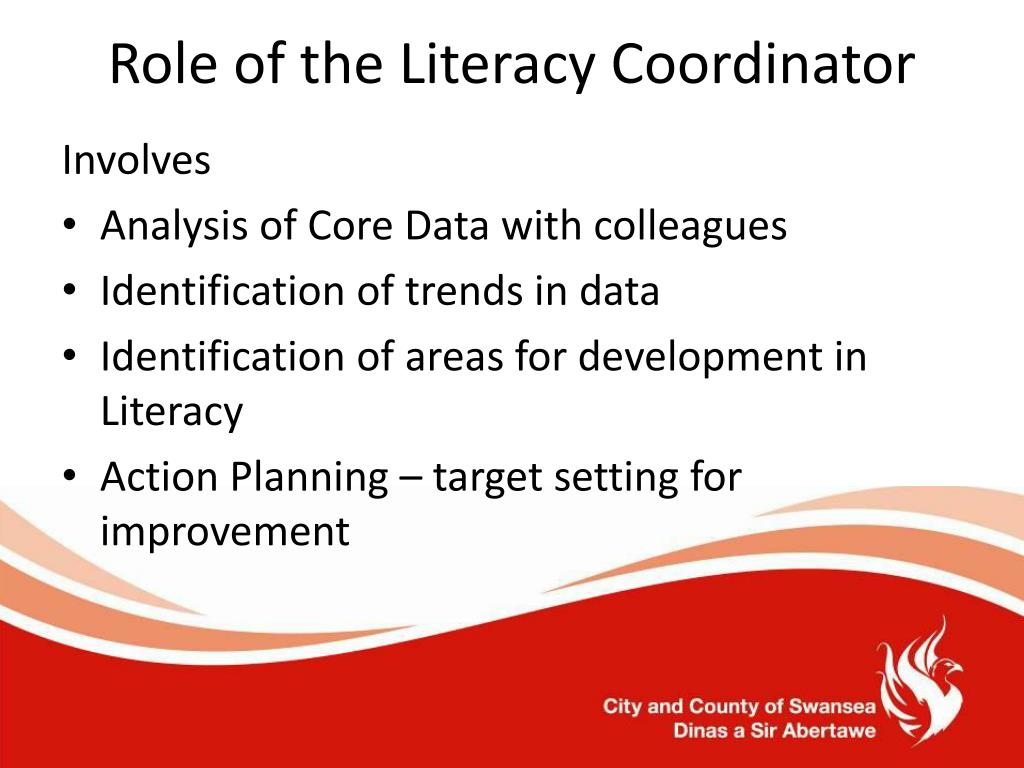 Role of the Literacy Coordinator