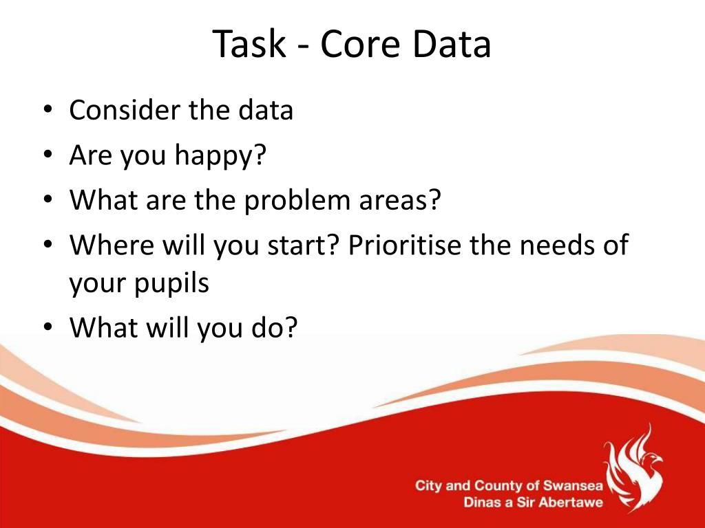 Task - Core Data