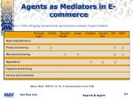 agents as mediators in e commerce