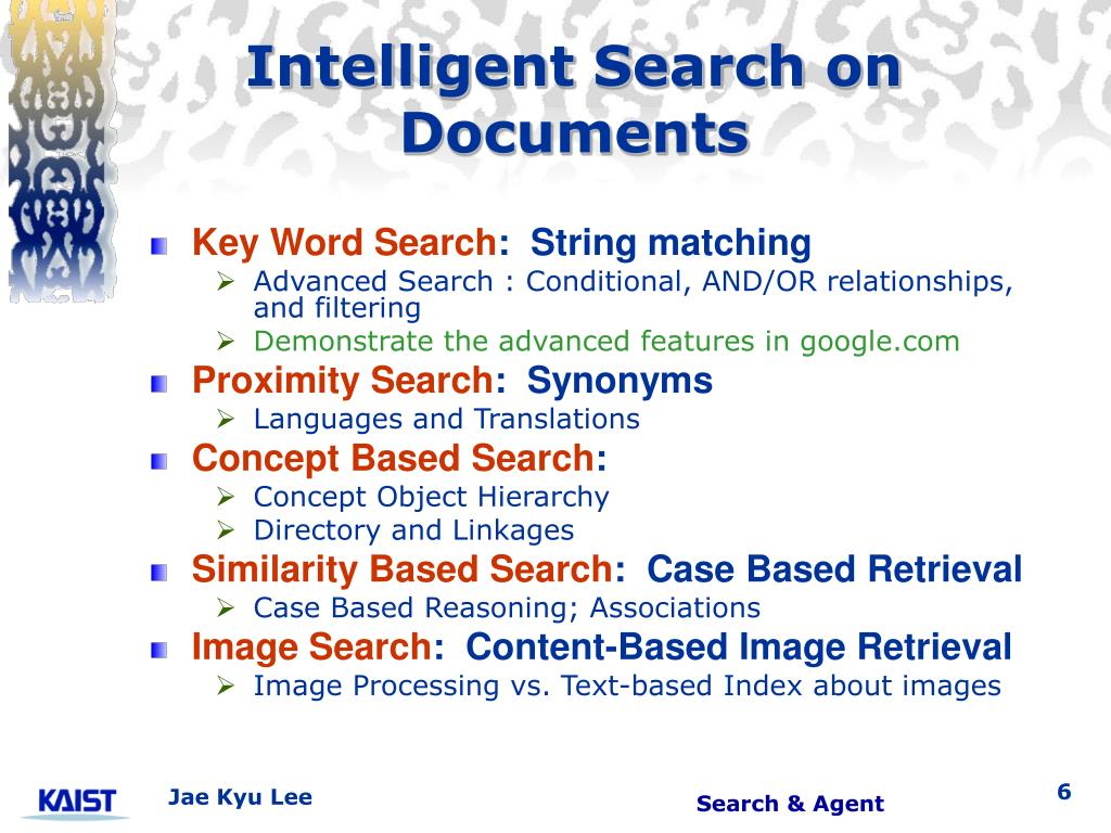 Intelligent Search on Documents