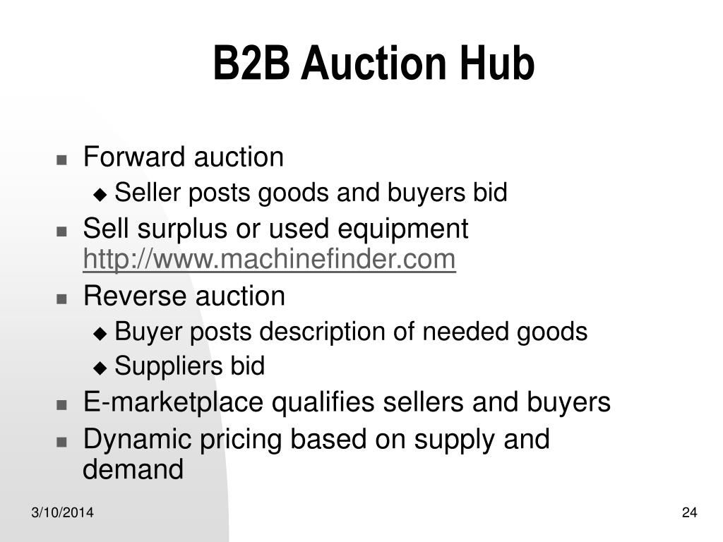 B2B Auction Hub