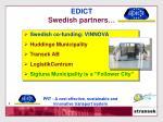 edict swedish partners