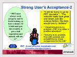 strong user s acceptance 2