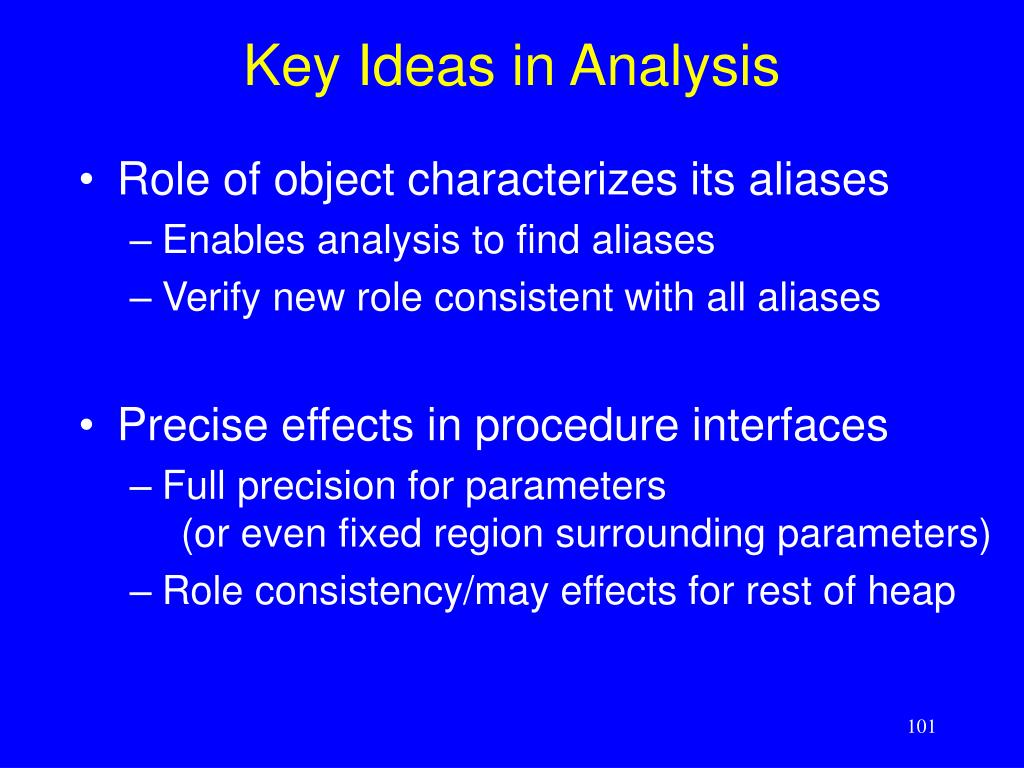 Key Ideas in Analysis