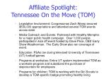 affiliate spotlight tennessee on the move tom
