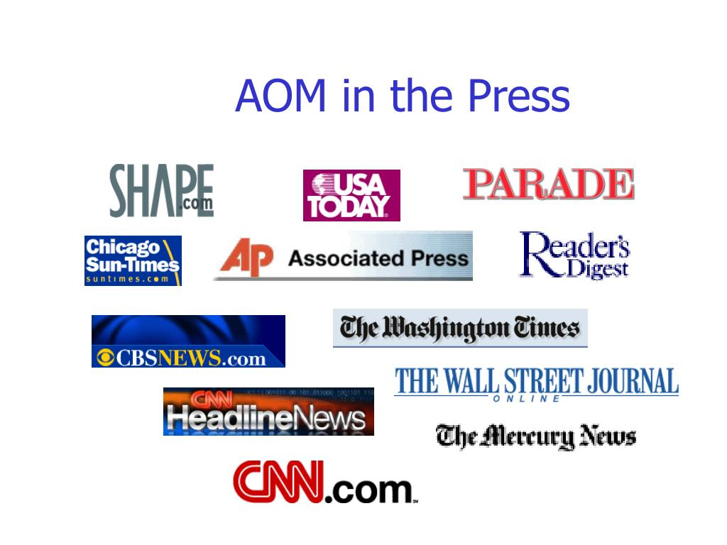 AOM in the Press