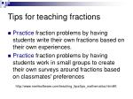 tips for teaching fractions33