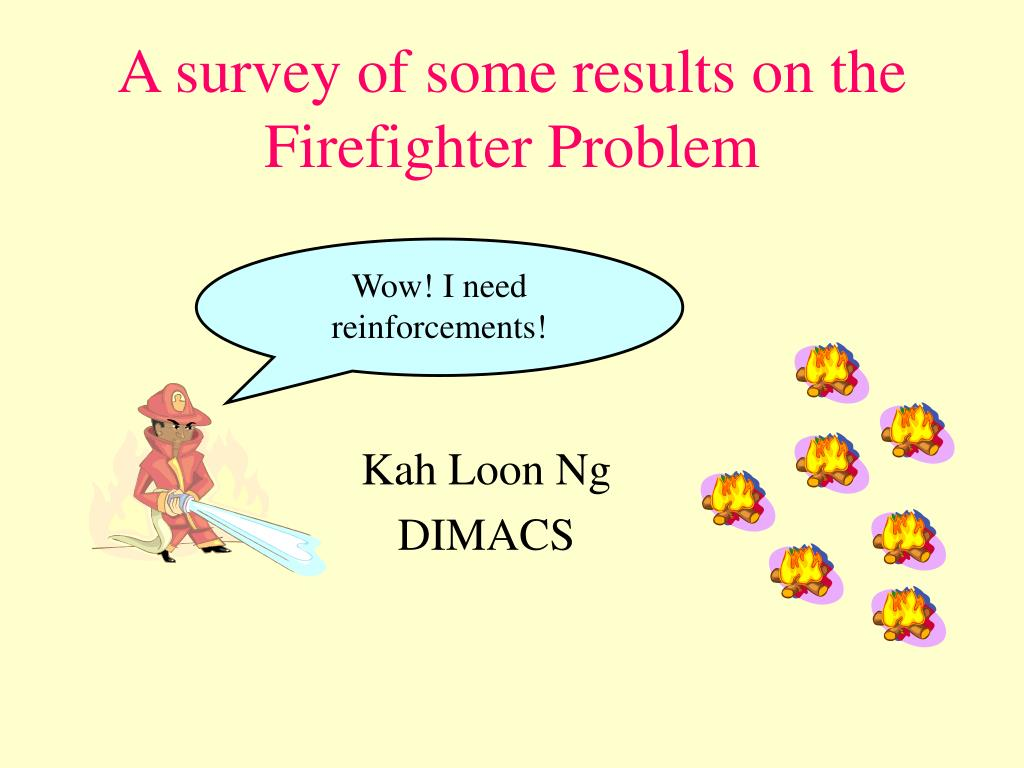 a survey of some results on the firefighter problem l.