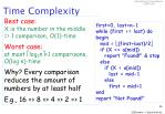 time complexity55