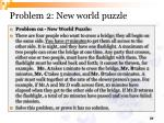 problem 2 new world puzzle