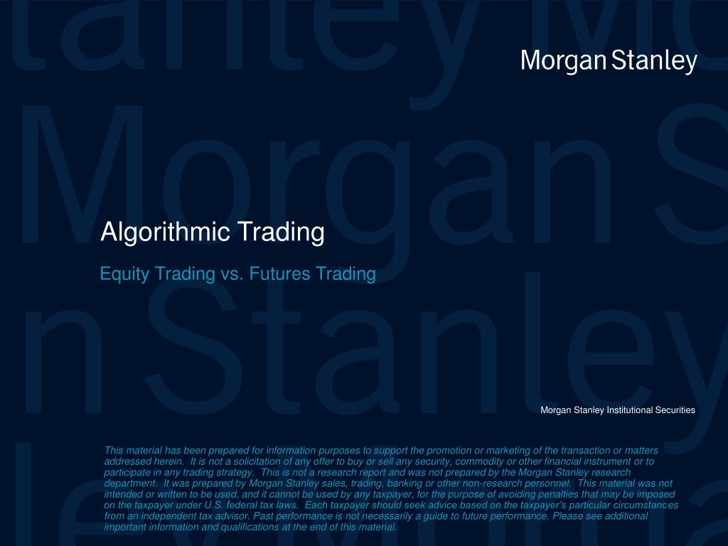 algorithmic trading l.
