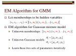 em algorithm for gmm
