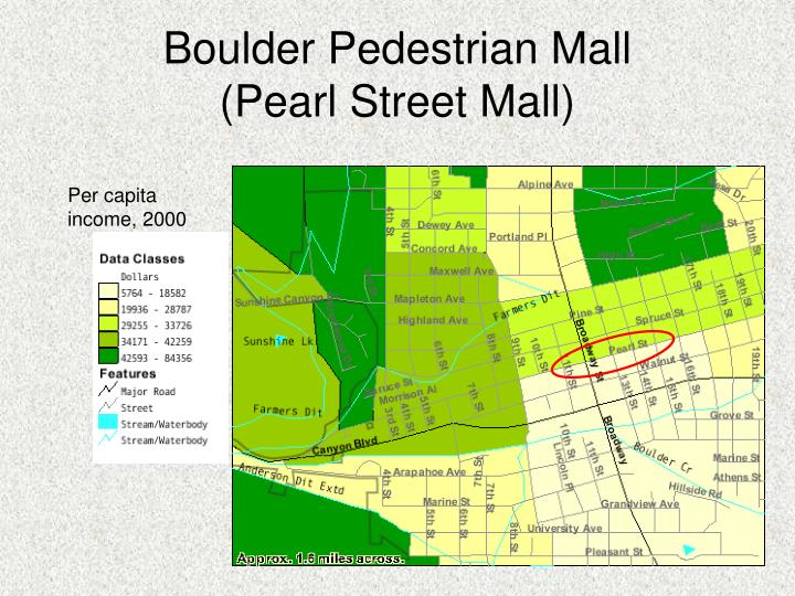 Boulder Pedestrian Mall
