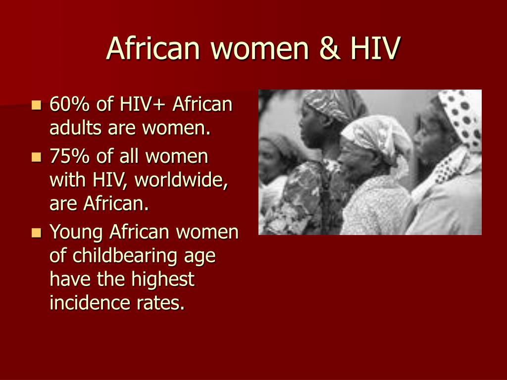 African women & HIV