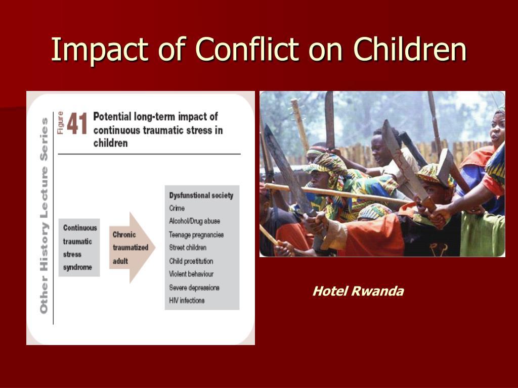 Impact of Conflict on Children