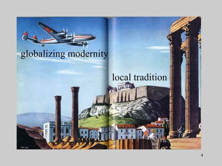 globalizing modernity