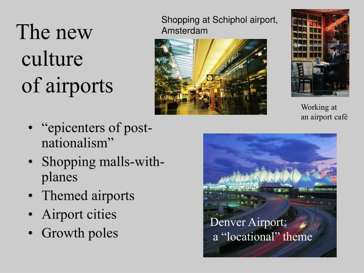 Shopping at Schiphol airport, Amsterdam