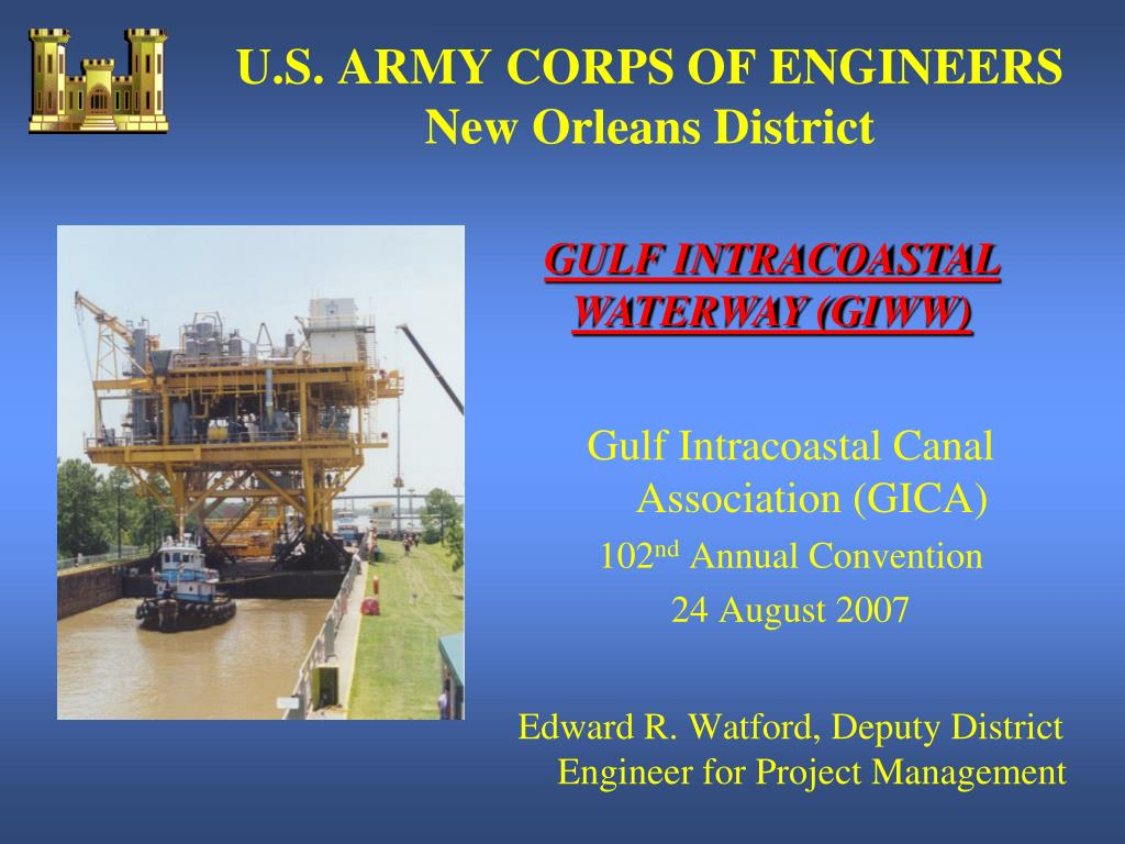 u s army corps of engineers new orleans district l.