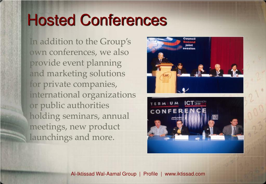 Hosted Conferences